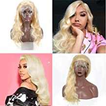 613 Frontal Lace Wig 130% Density Human Hair Wig Pre Plucked With Baby Hair Glueless Body Wave Brazilian Wigs On Sale Natural Hairline With Baby Hair Transparent Lace Wig For Black Women 12 Inch