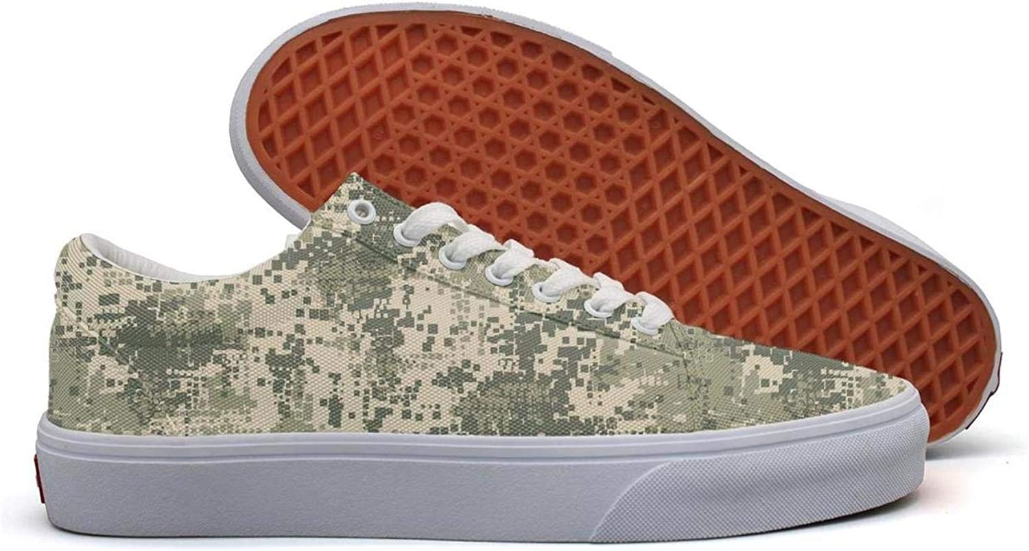 OIP Green camo Camouflage Women's Snakers Popular Casual Slip ons