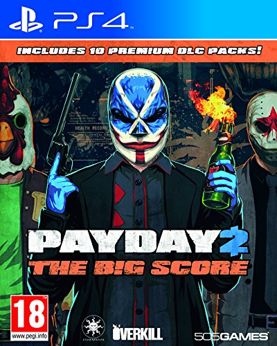 Payday 2, The Big Score PS4