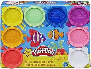 Play-Doh – 8 Pots de Pate à Modeler - Couleurs Arc-en-Ciel - 56 g chacun