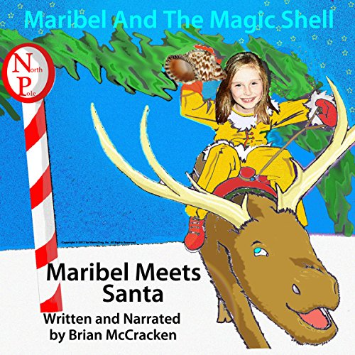 Maribel Meets Santa audiobook cover art