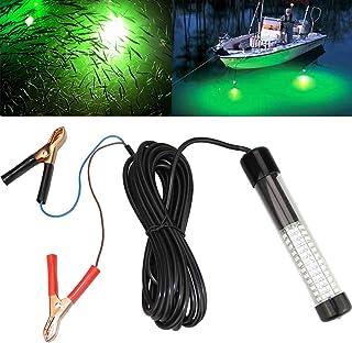 Lightingsky 12V 10.8W 180 LEDs 1080 Lumens LED Submersible Fishing Light Underwater Fish..