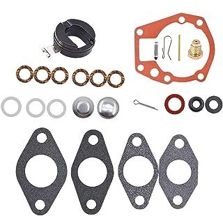 labwork Carburetor Rebuild Repair Kit with Float for Johnson Evinrude 1.5 2 3 4 5 5.5 6 HP 439071 18-7043