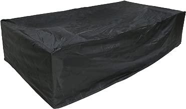 Kinbor Protective Cover Weatherproof 7Pcs Wicker/Rattan Sofa Cover