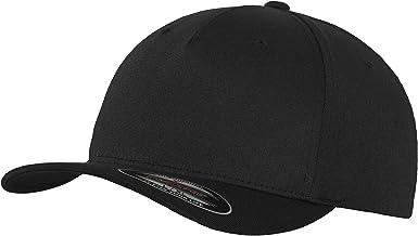 Flexfit Unisex Baseball Kappe 5 Panel Cap - Kappe für Herren und Damen, einfarbige Basecap, rundum geschlossen in vielen Farben, Größen S/M und L/XL