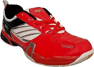 Vijayanti PB90 Red Badminton Shoes