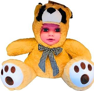 Baby teddy bear face (Yellowbrown)
