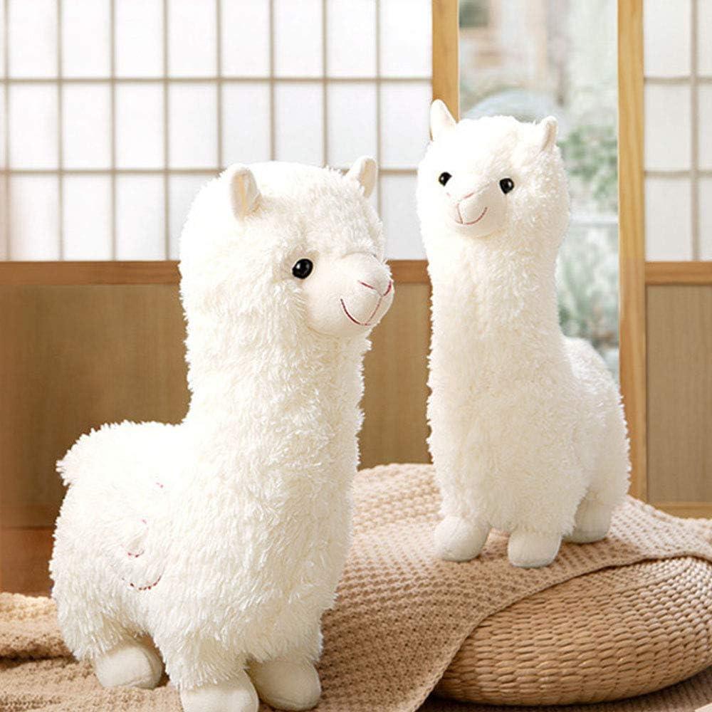 Cute Alpaca Llama Plush Toy Christmas Plushie Hug Pillow Cushion Llama Stuffed Animal Dolls Perfect Llama Gift for Kids Birthday 11inch Valentine