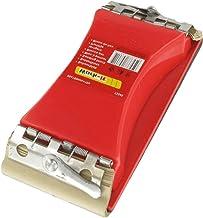 RIKAMA schuurblok met klemapparaat, 85 x 160 mm in aanbod incl. 10 schuurbladen   handschuurmachine   handschuurblok   sch...