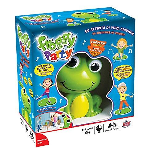 Grandi Giochi- Disney Froggy Party, Multicolore, GG01307