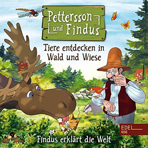 Findus erklärt die Welt - Tiere entdecken in Wald und Wiese. Das Orginal-Hörspiel zum Naturbuch cover art