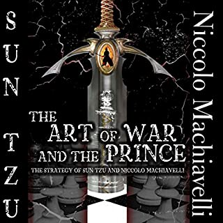 The Art of War and The Prince audiobook cover art