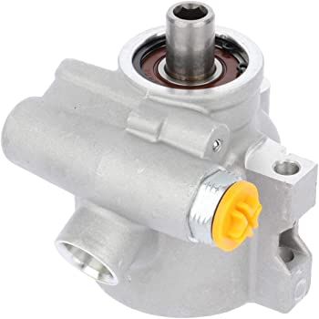 A-Premium Power Steering Pump with Reservoir Replacement for Jeep Cherokee Comanche Grand Cherokee 1991-1995 4.0L Only