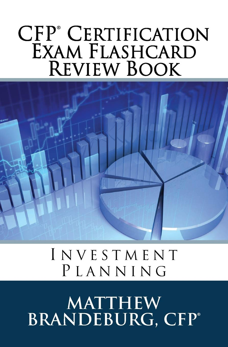 Image OfCFP Certification Exam Flashcard Review Book: Investment Planning (2019 Edition)