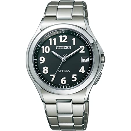 [シチズン] 腕時計 アテッサ Eco-Drive エコ・ドライブ電波時計 ATD53-2846 シルバー