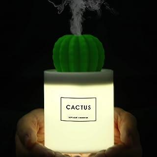 ONUEMP Cactus Humidifiers Night Light