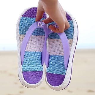 Summer sandals Unisex Adults' Men's & Women's Flip Flop,Women's flat bottom beach flip flops flip toe sandals and slippers-red_38,Soft Foam Sole Pool Shoes flip flop