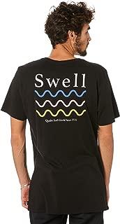 Swell Men's Icon Tee Short Sleeve Cotton Black