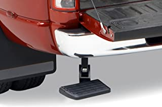 AMP Research 75306-01A BedStep Retractable Bumper Step for 2009-2018 Ram 1500, 2010-2018 Ram 2500/3500 (Excludes Dual Exha...