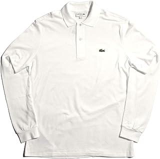 [ラコステ] LACOSTE 長袖ポロシャツ ロングスリーブ ポロシャツ L1312 00 メンズ 01.ホワイト 4 [並行輸入品]
