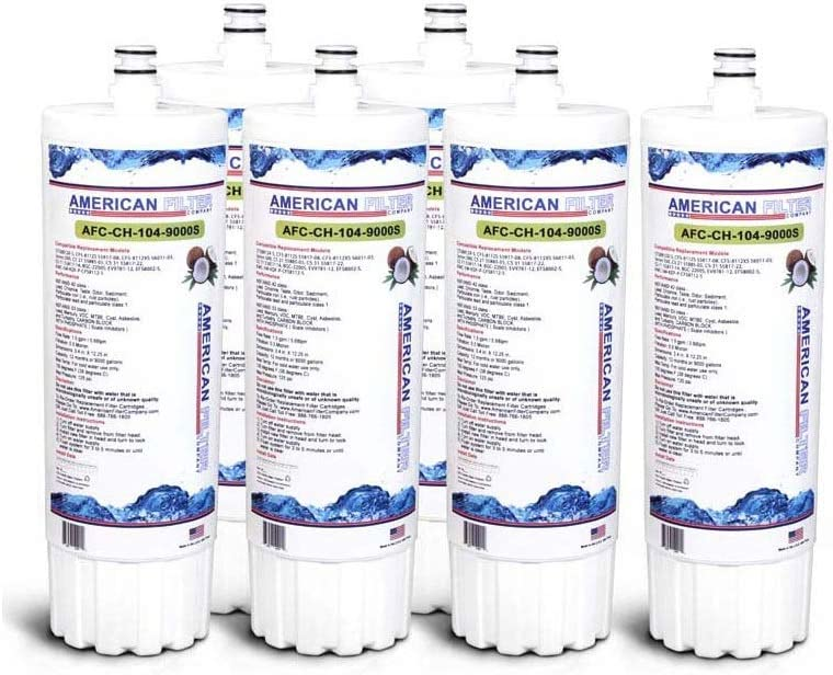 American Filter Max 57% OFF Company Sacramento Mall 6 Pack TM AFC-CH-1 Brand Water Filters