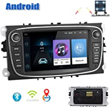Android Car Radio for Ford GPS AMprime 7 Inch Touch Screen Navigation WiFi Bluetooth FM Car Multimedia Player for Ford Focus Mondeo C-MAX S-MAX Galaxy II Kuga