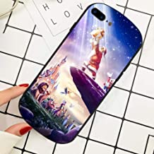 DISNEY COLLECTION Cell Phone Cover Case for iPhone 7 Plus (2016) & iPhone 8 Plus (2017) 5.5-Inch Disneyland Paris El Rey Leon Fashion