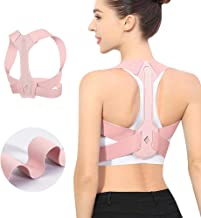 Updated Posture Corrector for Men and Women,Adjustable Upper Back Brace for Clavicle Support and Providing Pain Relief fro...