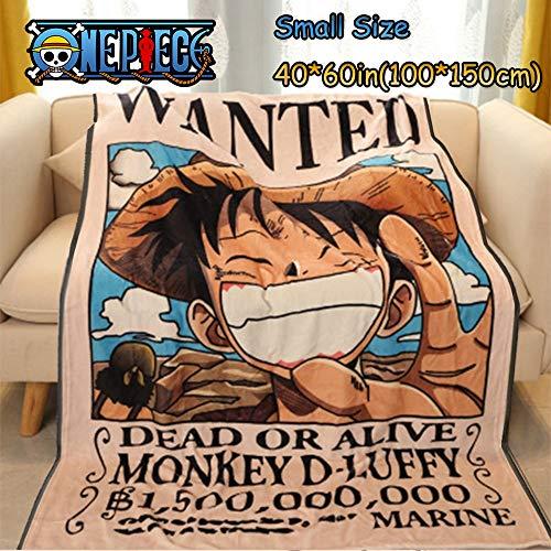 ASDIWON One Piece Couverture De Lit De Couverture Douce Chaude en Flanelle De Haute Qualité Adaptée à Lacouverture De Climatisation Couverture Bébé Plaids en Flanelle (A,40x60in(100x150cm))
