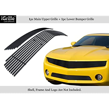 2010-2013 Camaro grill bow tie delete New removes the emblem from the front