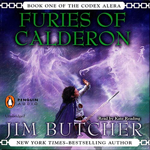 Furies of Calderon Audiobook By Jim Butcher cover art