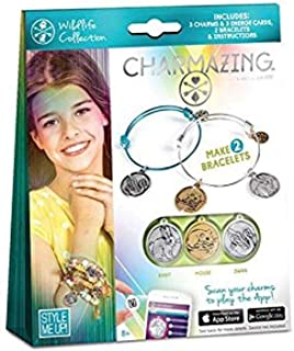 Charmazing Let's Get Started Wildlife Kids Art Craft