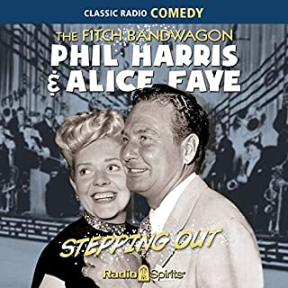Fitch Bandwagon/Phil Harris-Alice Faye: Stepping Out cover art