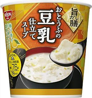 日清食品 旨だし膳 おとうふの豆乳仕立てスープ 17g×6個