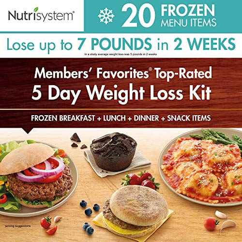Nutrisystem Members' Favorites- TOP Rated, 5 Day Weight Loss Kit (Frozen)