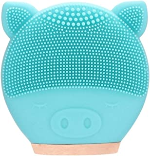 Facial Cleansing Face Cleansing Appliances Brushes Facial Cleansing Brush Silicone Sonic Vibration Mini Cleanser Deep Pore...