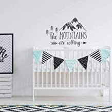 RWATS Wall Sticker The Mountiains Are Calling Vinyl Wallpaper Decals Home Kids Room Art Decoration Wall Stickers For Playroom Murals