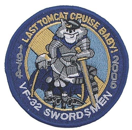MFH Stickabzeichen VF-32 Swordsmen Aufnäher Truppenabzeichen Stoffabzeichen verschiedene Motive (Motiv 3)