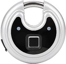 Beveiliging deurslot Vingerafdruk Hangslot Roundcake Shape IP65 Waterdichte Warehouse Office Glass Security Deurslot Mater...