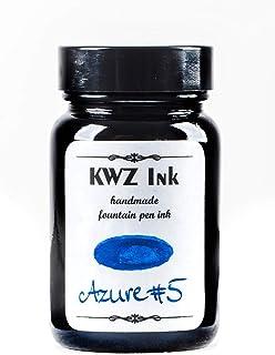 Azure #5 Handmade Fountain Pen Bottled Ink-60 ml