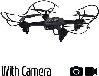Hover-Way 2.4 GHZ AVA Drone with 720P Video Camera & 8 GB MicroSD Card- Smart Phone Remote via HVR Avadrone App