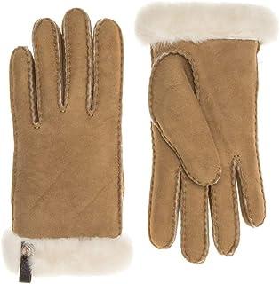 UGG® Sheepskin Shorty Womens Gloves Brown