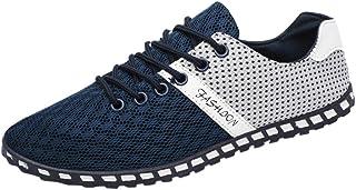 Oyedens Scarpe da Corsa Scarpe Sportive da Uomo Scarpe da Ginnastica Outdoor Antiscivolo Fashion Mesh Sneakers Flat Shoes ...