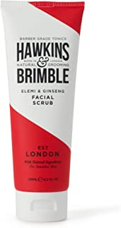 Hawkins & Brimble Mens Facial Scrub 125 ml / 4,2 fl oz. - Walnut & Almond Face Skin Exfoliator