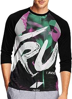Avicii True Tシャツ 中袖 上着 カスタムサイズ 運動 ボーイズ カジュアル ゆったり メンズ 五分袖