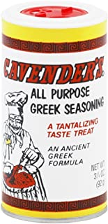 Cavender's All Purpose Greek Seasoning-3 (THREE) 3.25 oz Containers