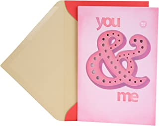 Hallmark Valentine's Day Card with Light and Sound for Significant Other (Plays Happy Together)