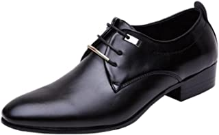[ALSYIQI] リーガル 靴 ビジネスシューズ メンズ 革靴 スニーカー シューズ 屈曲性 通学 通勤 レースアップ カジュアルシューズ コンフォート 衝撃吸収 通気 防臭 柔らかい AL-8871