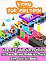 Learning Color Spray Paint for Cars Street Vehicles Toys - Toy Cars for Kids