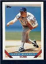 Baseball MLB 1993 Topps #183 Greg Maddux Cubs
